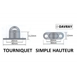 Tourniquets simple hauteur