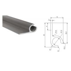 Profil aluminium pour bâche