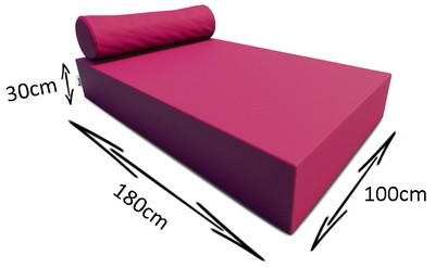 Dimensions sunbed