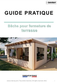 Guide pratique bâche pour terrasse