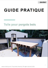 Guide pratique de la toile pour pergola bois